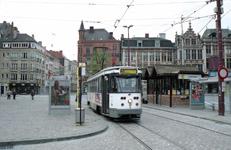PCC tram at Korenmarkt