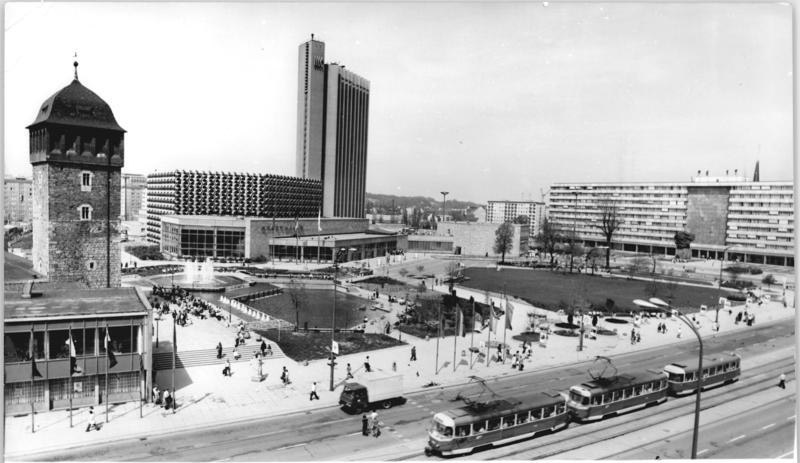 Chemnitz Germany  city images : ... densely build up Chemnitz city center, demolished in the World War II