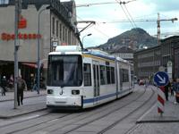 AEG GT6M tram at Holzmarkt