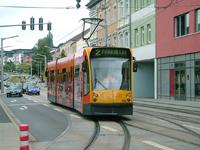 Rautenstrasse, Siemens Combino MGT4 Tram