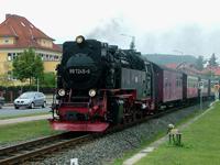 Steam train, Tram Line 10, Niedersachswerfen