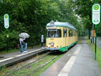 Duewag GT6 at Heinitzstrasse Stop