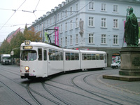 DUEWAG GTW-D8 Tram