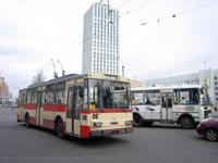 Skoda 14TrH at Troitskiy Prospect / Voznesenskaya Ul.