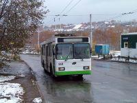 VMZ-375 trolleybus in Yubileyniy.