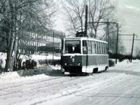 KTM-5M3 tram near the School N2