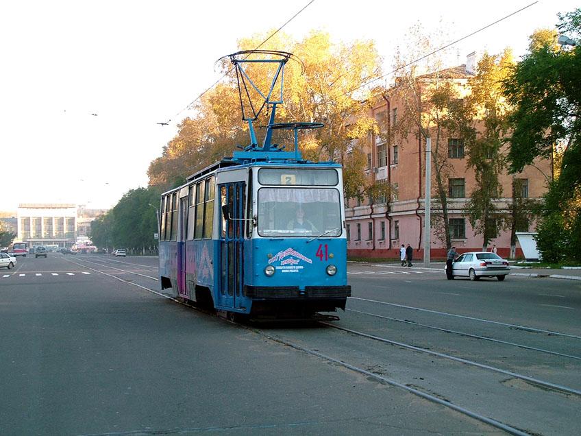 Трамвай 26 - маршрут