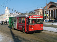 BTZ-5276-01 trolleybus at Avtozavodcev Pr. / Tuhachevskogo Ul.