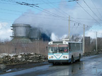 VMZ-170 near the Izopren, Tsekh N13 Stop