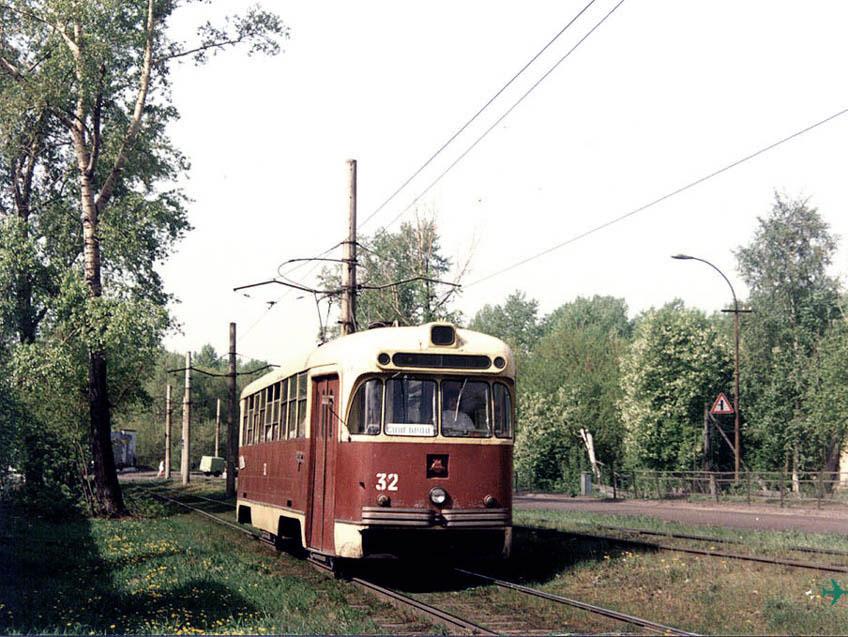Первая линия трамвая от