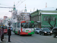 ZiU-682G at Lenina Ul. and Dzerzhinskogo Ul.