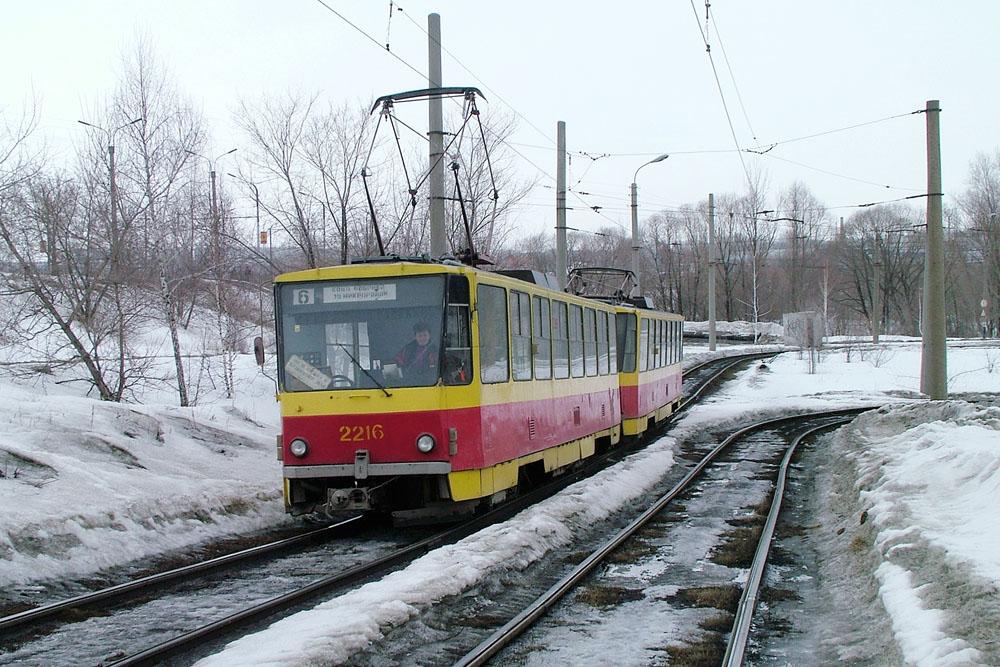 6 03a 19 y Mikrorayon loop Tatra T 3M 22162217