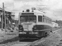 MTV-82 tram at Karpinskogo Ul. / Mayakovskogo Ul. in Volchanka