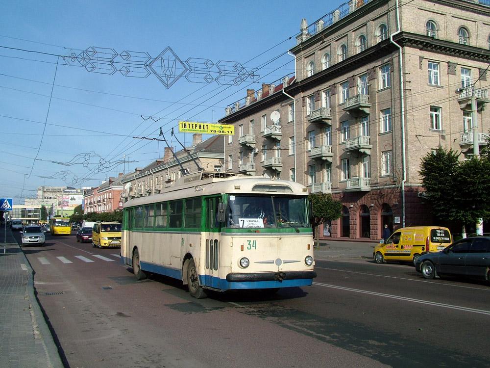 Lutsk Ukraine  City pictures : Skoda 9Tr