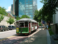 St. Paul St / Ross Ave, the McKinney Avenue Trolley Line, the Downtown Terminal