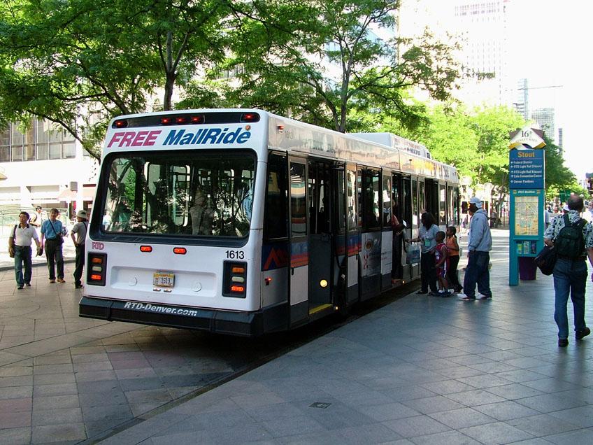 Denver Tram Network The Free Mall Ride Hybrid Electric