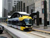 Bombardier Flexity Swift Tram, The Hiawatha Line, Nicollet Mall Station